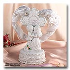 Precious Moments Musical Cake Top